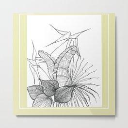 Garden II Metal Print