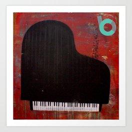 black keys Art Print