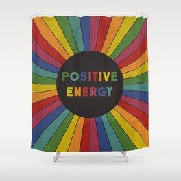 Positive Energy Shower Curtain