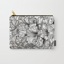 Vintage Victorian hand drawn swirls Carry-All Pouch