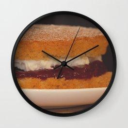 Victoria Sponge. Wall Clock