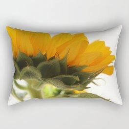 Against The White Rectangular Pillow