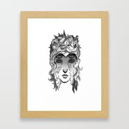 4 Eyes. Framed Art Print