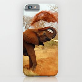 Slinging Mud iPhone Case