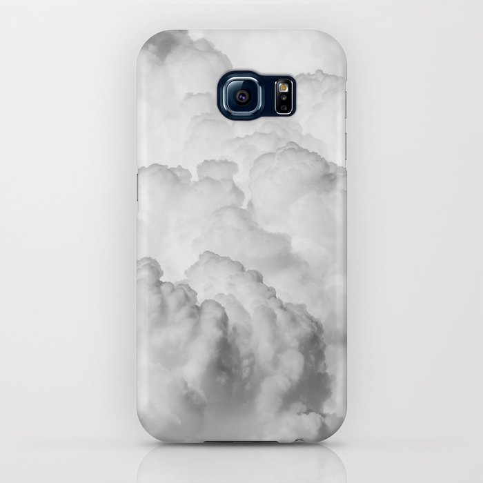 white clouds iphone case