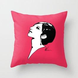 Barbra Streisand - Barbra - Pop Art Throw Pillow
