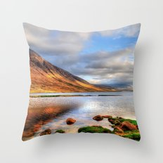 Loch Etive Throw Pillow