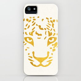 LEO FACE iPhone Case