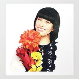 Flower~chan Art Print