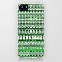 Tribality Green Texture iPhone Case