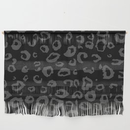 Black and Gray Leopard Wall Hanging