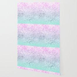 Mermaid Girls Glitter #1 (2019 Pastel Version) #shiny #decor #art #society6 Wallpaper