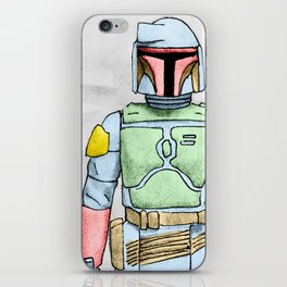 My Favorite Toy - Boba Fett iPhone Skin