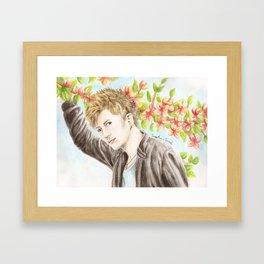 GACKT Framed Art Print