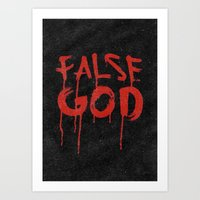 False God - Dawn of Justice Art Print