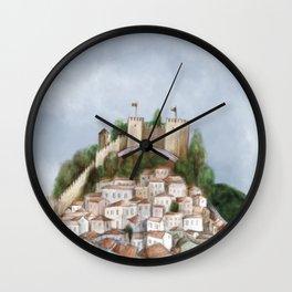 Lisboa landscape Wall Clock