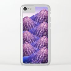 The Mountains of my Heart Clear iPhone Case