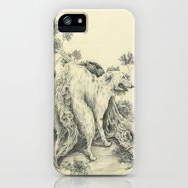 Borzoi iPhone Case
