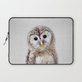 Baby Owl - Colorful Laptop Sleeve