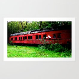 Ohio Train  Art Print