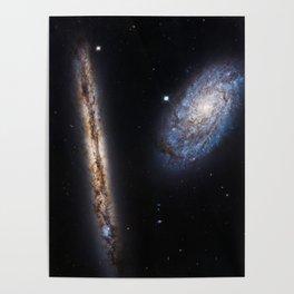 Galaxies NGC 4302 and NGC 4298 Poster