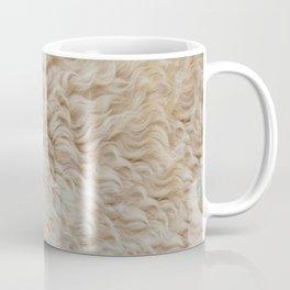 white fur Coffee Mug