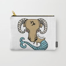 Capricorn Goat Fish Carry-All Pouch