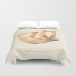 Css Animal: Sloth Duvet Cover