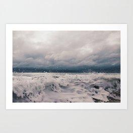 Wabasso Beach Waves 2 Art Print