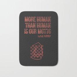More human than human.Blade Runner Bath Mat