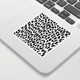 Leopard Print Sticker