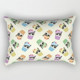 cupcake kitty Rectangular Pillow