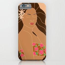 BROWN GAL iPhone Case