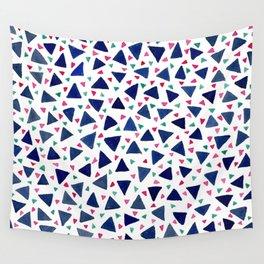 Confetti Triangles Wall Tapestry