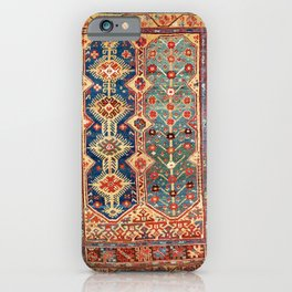 Megri Southwest  Anatolian Rug Print iPhone Case
