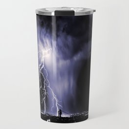 Lightning and Rain Funnel Travel Mug