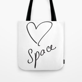 Heartspace - A Higher Frequency Love in 5D Tote Bag