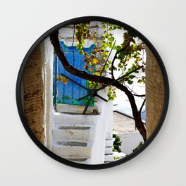 Village view Wall Clock