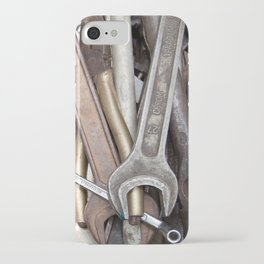 old tools iPhone Case