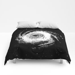 Spiral Galaxy 1 Comforters