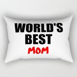 worlds best mom gift Rectangular Pillow