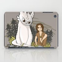 how to train your dragon iPad Cases featuring How To Train Your Luck Dragon by Lacey Simpson