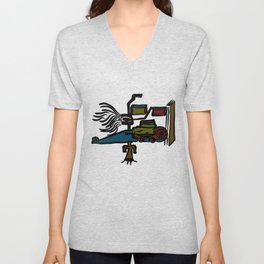A Really Fast Car Unisex V-Neck