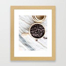 Farmhouse Chocolate Chips Framed Art Print