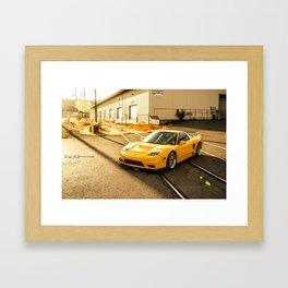 NSX  Framed Art Print