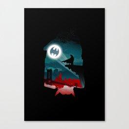 Bat-Man Canvas Print