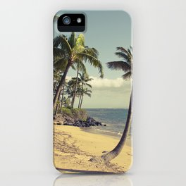 Maui Lu Beach Kihei Maui Hawaii iPhone Case