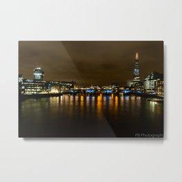 East London by night Metal Print