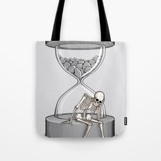 Please wait Tote Bag