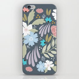 Scandinavian Florals iPhone Skin